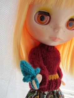 Stitch Journal: Crafty Fire for Blythe
