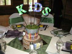 kids table at wedding reception | ... you are having kids at the reception, a kids table ... | Wedding i