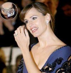 Jennifer Garner's engagement ring from Ben Afleck