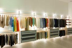 Best walk in closet behind bed home 26 ideas Modern Closet, Closet Behind Bed, Decor, Closet Designs, Wooden Shades, Affordable Interiors, Closet Light Fixtures, Home Decor, Closet Lighting