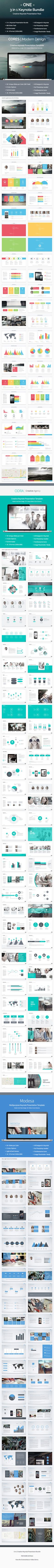 3-in-1 Keynote Bundle Vol. 1 (Keynote Templates)