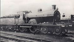 No. 779. A McIntosh 766 Dunalastair II Class 4-4-0 'Breadalbane' of Caledonian Railways, built in 1898. Fifteen were built, and were used on goods and passenger services. Four of them were re-built in 1914. It became LMS 14335 on grouping, being classed as Class 2P. The engine was involved in an accident in 1928 at Dinwoodie, and was withdrawn and scrapped in 1939. PP Steam Railway, British Rail, Steam Engine, Steam Locomotive, Engineering, Track, Colours, Runway, Truck