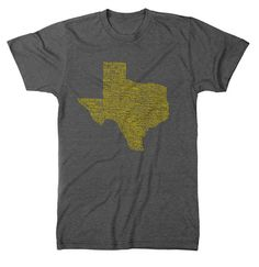Texas Towns T-Shirt - Mens (8 Color Options) – Tumbleweed TexStyles