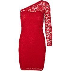 Vero Moda Laced One Shoulder Short Dress