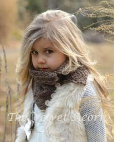 CROCHET PATTERN-Orylean Cowl Adult Child Toddler por Thevelvetacorn
