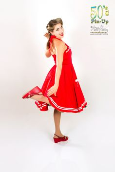 Golden Noble, 50's Pinup shoot.