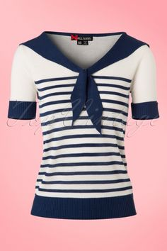 Bunny Coco Top in Navy 113 39 21042 20170220 0003w