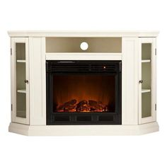Hokku Designs TV Stand with Electric Fireplace & Reviews