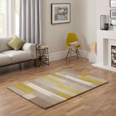 Buy John Lewis Grid Rug, Fennel, x from our Rugs range at John Lewis. Free Delivery on orders over Living Room Plan, Carpet Shops, Grey Lounge, Front Rooms, Grid Design, Spare Room, Rugs Online, Living Room Interior, John Lewis