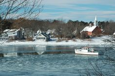 The cottage in Cape Porpoise