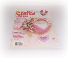 February Valentine's Crafts 'n Things Magazine Easy Valentine's Day Crafts Party Favors Jewelry And More Pattern Section Sewing DIY Crafts by ICreateAndCollect on Etsy