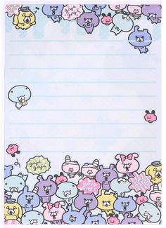 100 sheets Cute Fairytale Animals Notes Left Memo Pad Notepad Sticker Stationery