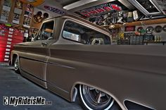 1964 Chevy C10 with air ride