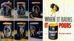 Morton Salt various designs