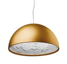 Sky garden Flos   Flos - Skygarden 2 gold Pendellampe Design Marcel Wanders ...