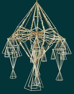 Russian, Belarussian, Ukrainian traditional straw decorations: соломенный паук, соломинка, павук соломки, ліхтар.