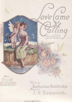 Carol Anne's Boutique: New Images~ Vintage Sheet Music