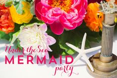 mermaid under the sea party by wh hostess