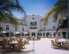 Luxury beachfront hotel Marbella, Malaga, Spain.