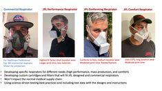 COVID-19-respirators/README.md at master · nasa-jpl/COVID-19-respirators · GitHub Supply Chain, Face Shapes, Nasa, Flexibility, Health Care, Printing, Medical, 3d, Fitness