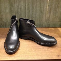 Ankle boots by @balenciagaparis #Balenciaga #AnkleBoots #leather #men #FolliFollie #FW14collection