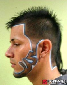 ... pencils to enhance barber design on Pinterest Hair Art, Pencil and