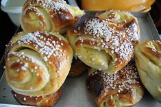 Pulla ~ Very common in Finland. My Finnish Grandma was an awesome baker, but don't recall these! Want one!