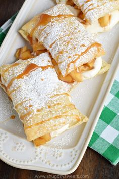 Turn puff pastry and apples into something delicious. Easy Apple Cheesecake Napoleons