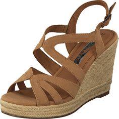 Tamaris - 1-1-28342-26 440 Nut Wedges, Fashion, Moda, Wedge, Fasion, Fashion Illustrations, Fashion Models, Wedge Sandal