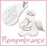 Memorial Keepsakes, Remembrance Jewelry, Sympathy Gifts at My Forever Child.