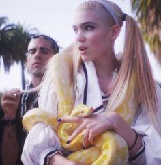 """Grimes///""""Genesis"""" video still"""