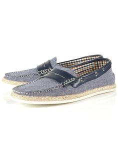 seaview penny boat shoe/ topman