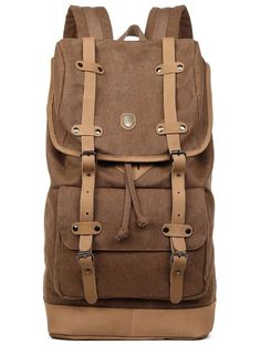 0cf02ba57d Canvas Laptop Backpack with Cotton Lining
