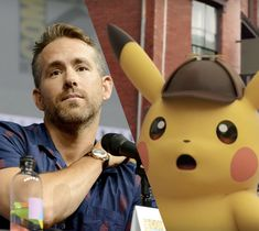 It's like the True Detective and Pokémon crossover that nobody asked for Pokemon Buddy, Pokemon Go, Pokemon Live Action, Pikachu, Pokemon Crossover, Are You Not Entertained, True Detective, Ryan Reynolds, Girlfriends