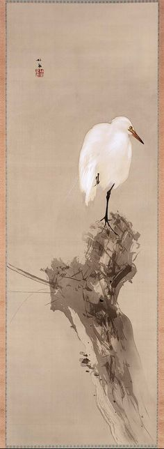 Seiho, Egret and willow