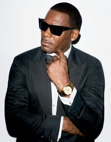 r kelly... yeah he has his personal problems but that doesn't mean his looks have changed, Yum!