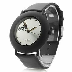Tanboo Unisex Leather Analog Quartz Wrist Watch 0687 (Black) by Tanboo Watchs. $9.99. Sports Fan Watch. Gender:Women's, Men'sMovement:QuartzDisplay:AnalogStyle:Wrist WatchesType:Casual WatchesBand Material:LeatherBand Color:BlackCase Diameter Approx (cm):3.5Case Thickness Approx (cm):1Band Length Approx (cm):24Band Width Approx (cm):2