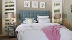 HOW TO MAKE AN UPHOLSTERED BEDHEAD - Designer Finish at a Bargain Price | Home Upholsterer Blog