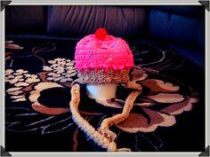 Cupcake crochet Hat by TheLovelyyarns on Etsy, $20.00