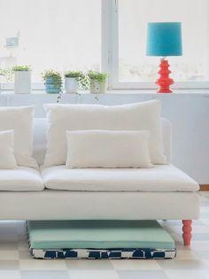 Customer photo   Comfort Works custom made Soderhamn Sofa in Gaia ...