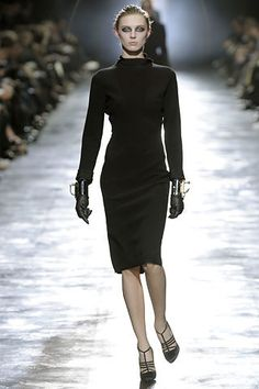 Lanvin Fall 2008 Ready-to-Wear Fashion Show - Olga Sherer (NATHALIE)