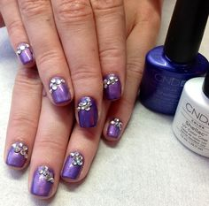 Shellac Purple Purple & Moonlight & Rose