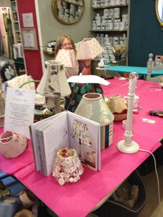 Re Vamp Your Lamp Workshop at Sweetpea & Betty