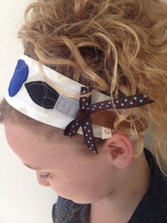 The Artist Fabric Headband by letterbdesigns on Etsy, $18.00
