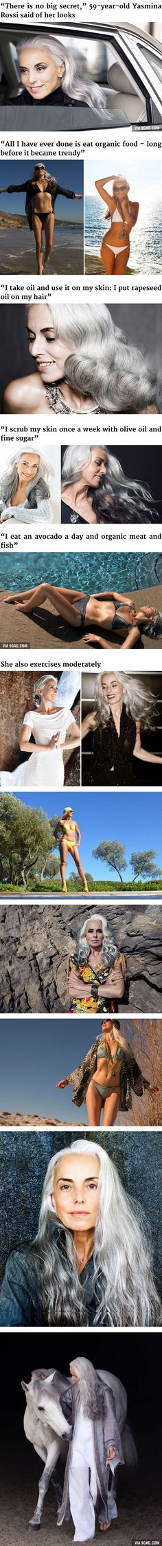59-Year-Old Grandmother Is Still Killing It As A Fashion Model - 9GAG
