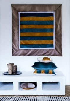 Suitable for a cover of a magazine  -  from the home of Christina Lundsteen.  Textiles by www.christinalundsteen.com