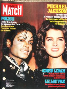 Brooke Shields et Michael Jackson