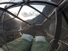 Let's start this off right, it hangs 400 ft. above Peru's sacred valley. So if your travels typically involve adventure, this is definitely something you're going towant to check off your bucket list. They're called sky lodges, and they're basically futuristic, transparent sleeping capsules. In other words, if you're looking for a room with a... Read more »