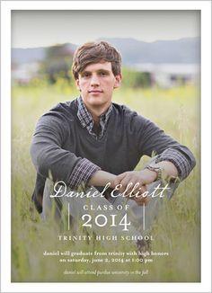 boys high school graduation announcements - Google Search