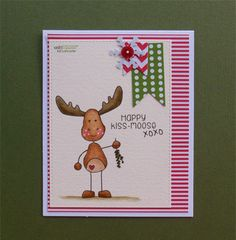 Happy Kiss-Moose – Everett | Unity Stamp Co